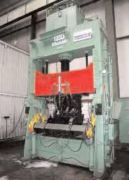 Crankshaft twisting press