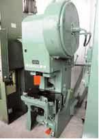 C-frame eccentric press