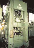 Double-column crank press
